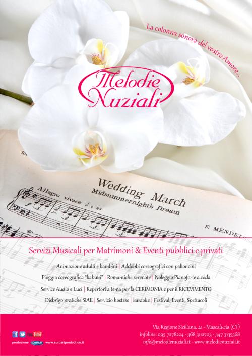 musica per matrimonio a Catania e in tutta la Sicilia